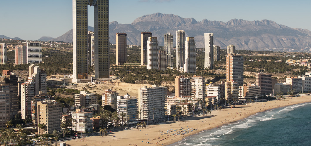 Benidorm Spain Seven Degrees