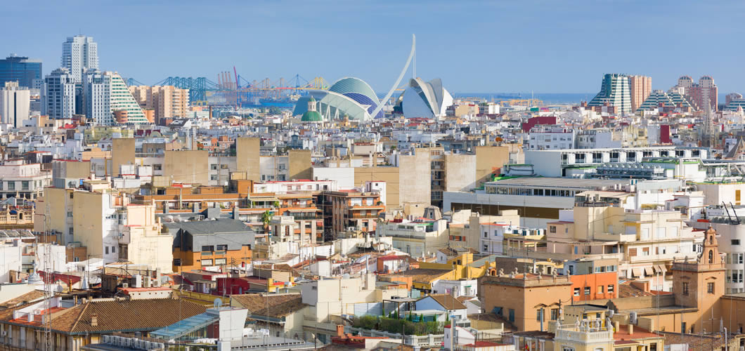Valencia Spain Seven Degrees